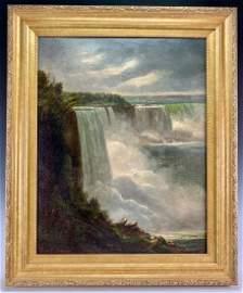 Important J.F. Richardt (1819-1895) Niagara Falls