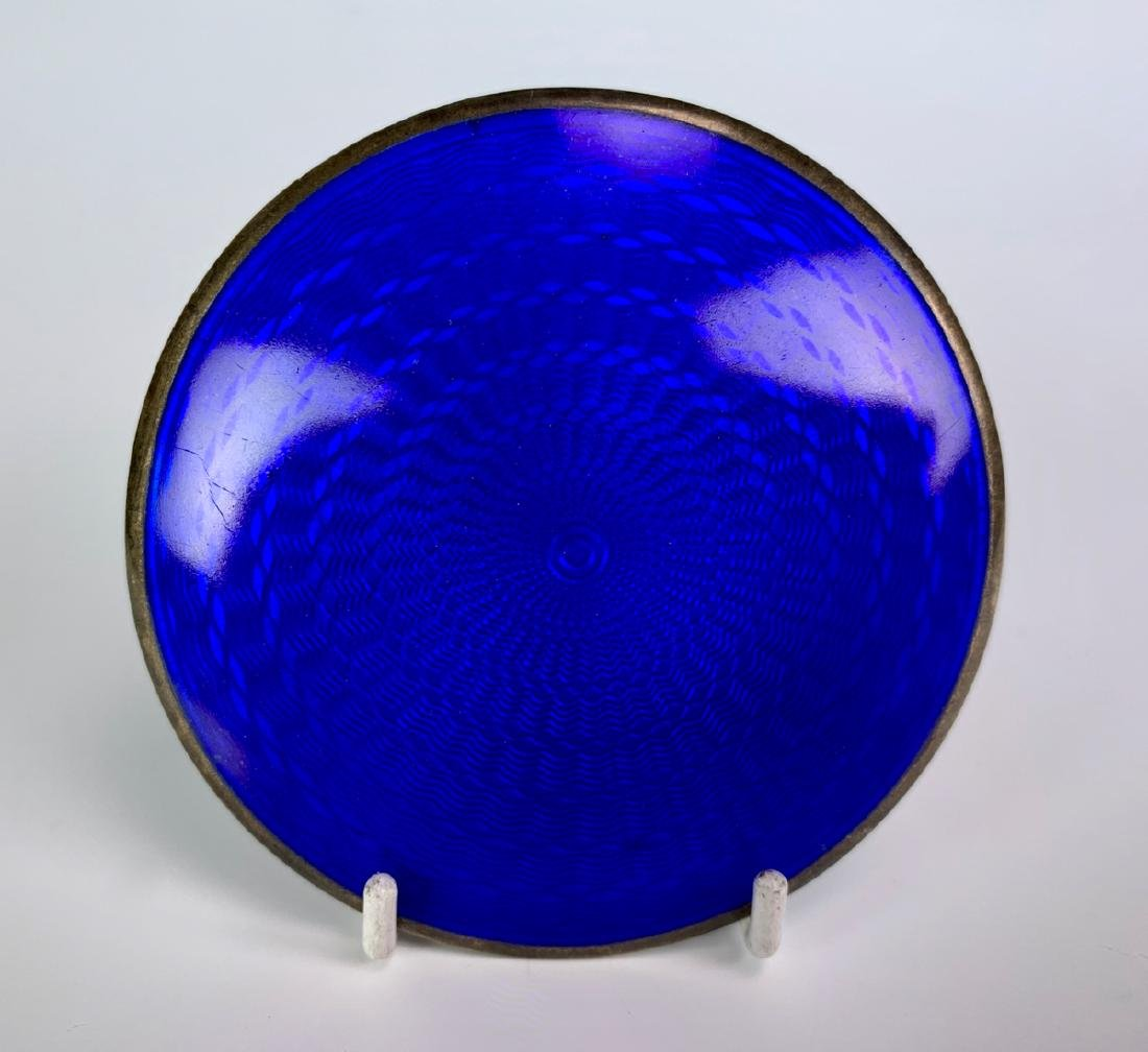 Vintage Austrian Silver and Enamel Compact - 2