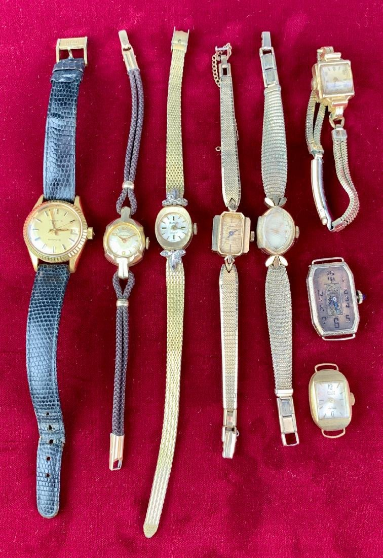 7 Ladies Gold Watches