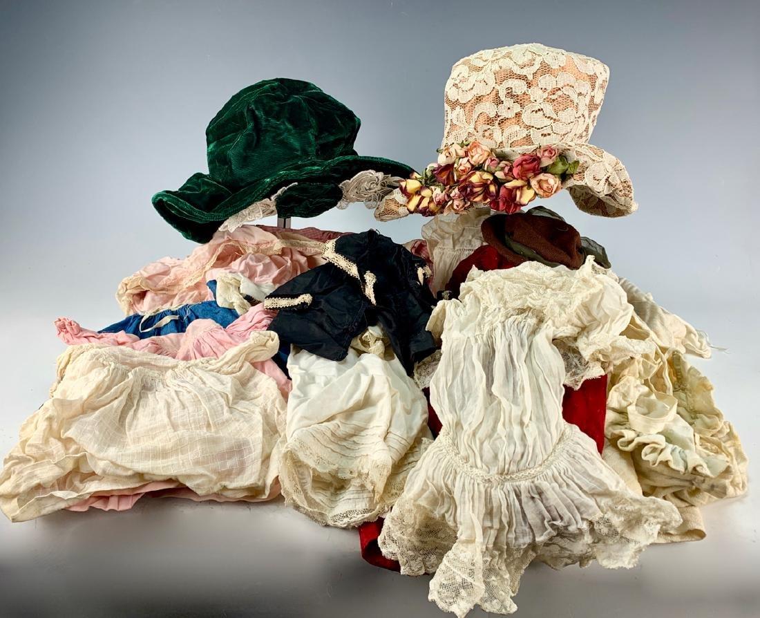 12 Pcs of Antique & Vintage Doll Clothes