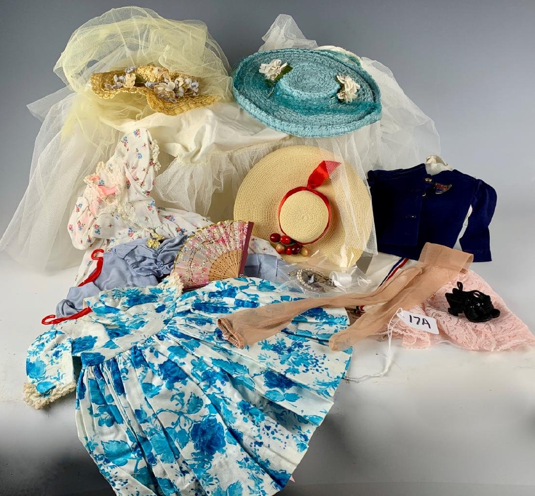 1950's Vintage Doll Clothing, Hats & Accesories