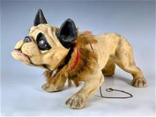 Growler Dog Pull Toy C. 1890