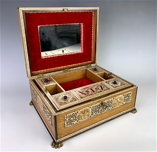 Vintage Native American Jewelry Boxes & Trinket Boxes for