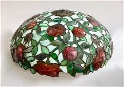 John Morgan & Sons Leaded Rose Lamp Shade