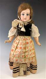 """21.5"""" French Bisque Bebe By Jumeau C. 1885"""
