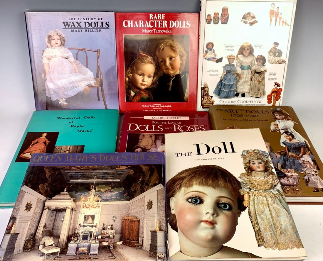 8 Doll Reference Books