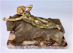 "Carl Kauba (1865-1922) ""Bare on Bear"" Mechanical"