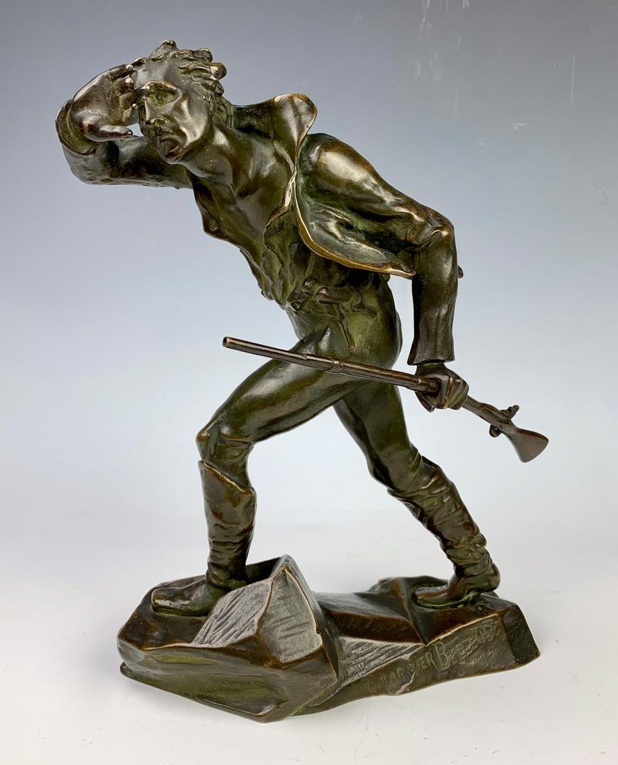 L. Carrier Belleuse (1848-1913) Bronze Minuteman