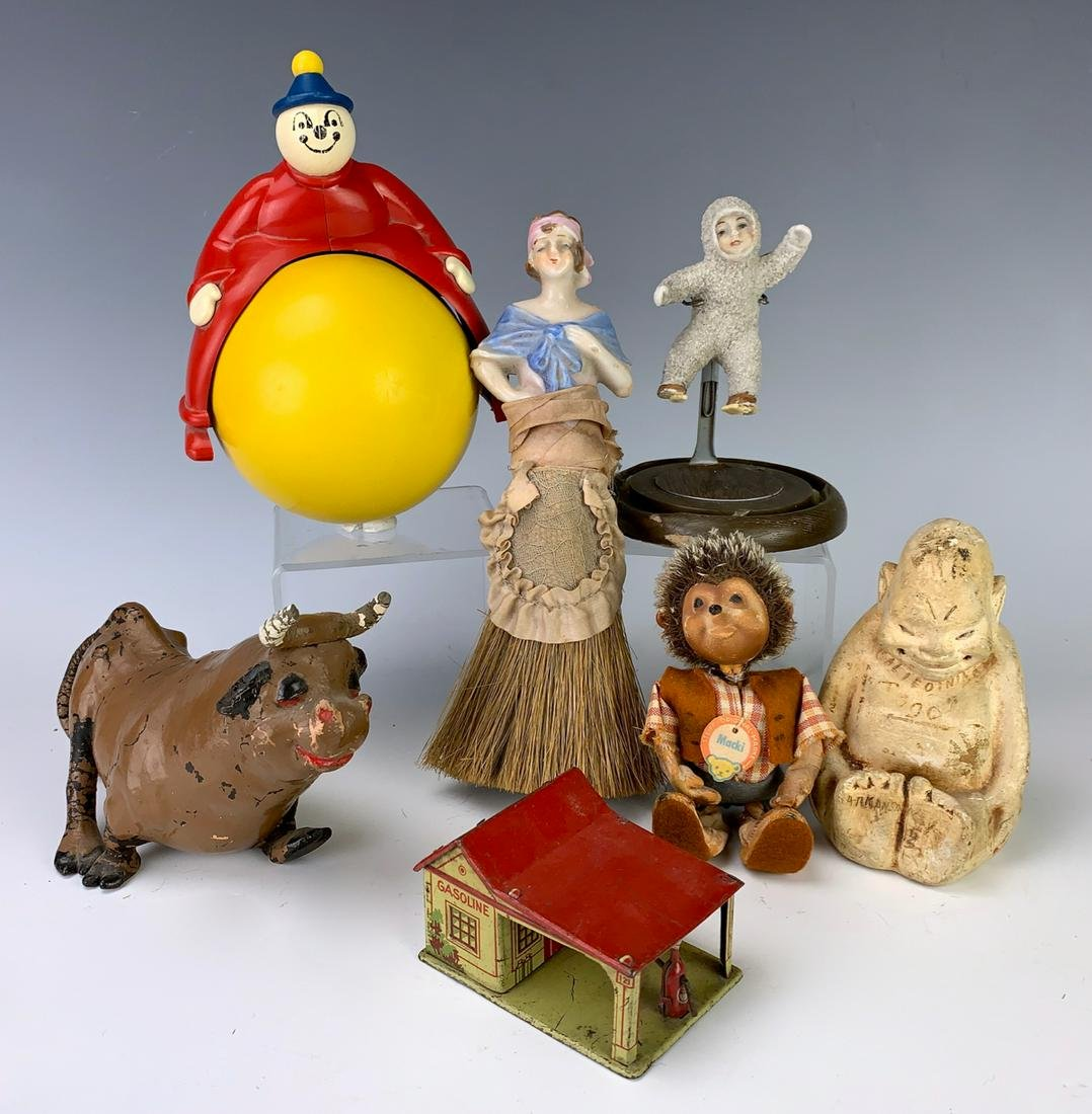 Group of 7 Antique Toys