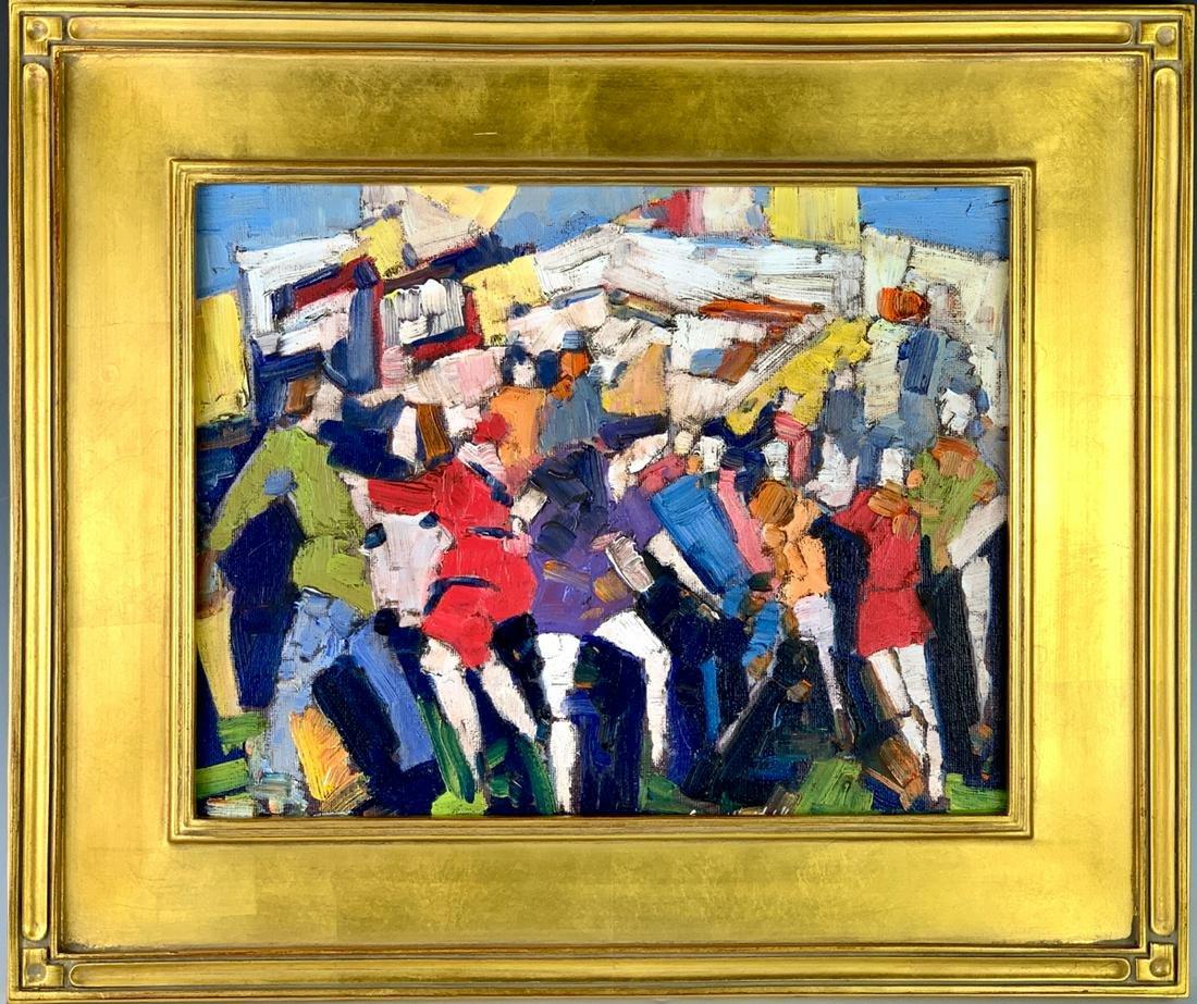 "Sergui Novitchkov (B. 1969) ""The Crowd"""