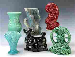 6 Pieces of American Art Pottery
