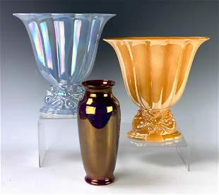 Group of 3 Cowan American Art Pottery Vase