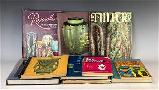 Group of 11 American Art Pottery Reference Books