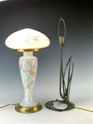 Bronze Cat Tail Lamp & Modern Lamp