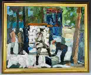 """Sergui Novitchkov (Russia b. 1969) """"Shoe Shine"""""""