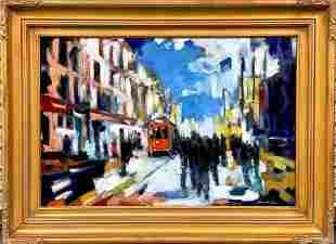 "Sergui Novitchkov (Russian b. 1969) ""City Life"""