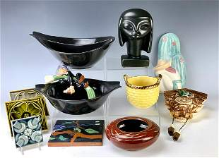 Group of 11 American Art Pottery