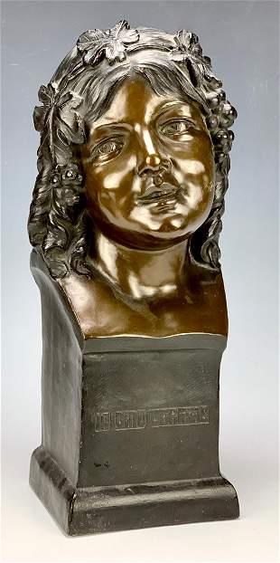 Terra Cotta Bust of a Child