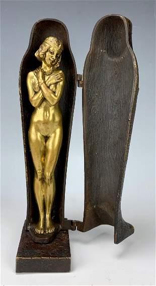 Bergman Mechanical Mummy Bronze w/ Nude