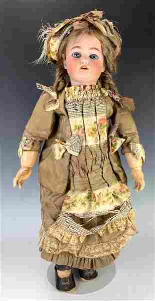Simon Halbig WSK 4 Antique Bisque Head Doll
