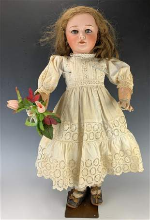 SFBJ / Jumeau 301 Bisque Head Antique Doll