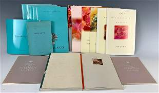 17 Tiffany & Steuben Company Products Booklets