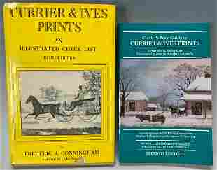2 Currier & Ives Reference & Price Guides