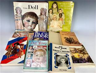 Group of Antique Doll Reference Books