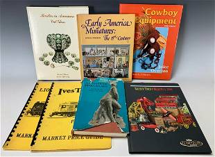 6 Antique Reference Books