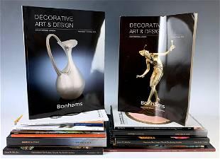 Group of 15 Art Nouveau Auction Catalogs