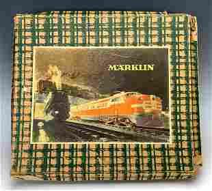 "Marklin 1920s ""O"" Guage Toy Train Set w/ Box"