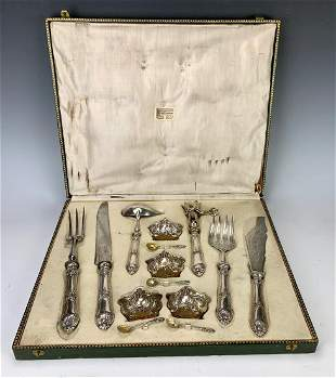 14 Piece Sterling French Complete Serving Set