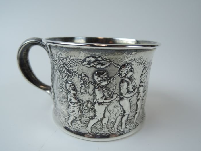 Ornate Gorham Sterling Silver Cup
