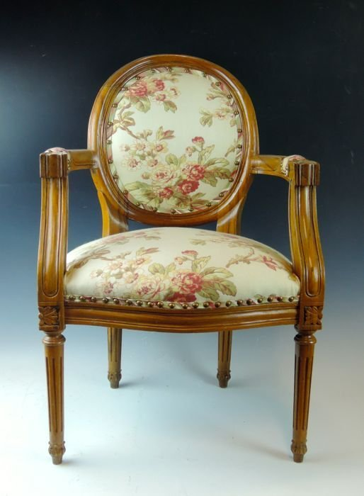 Louis XVI Child's Chair or Salesman Sample