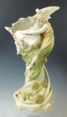Ernst Wahliss Figural Vase