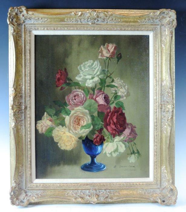 Still Life Painting of Roses
