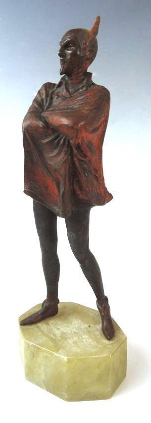 Bronze Figure of Mephistopheles