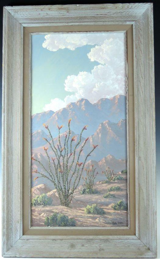 "Kathi Hilton ""Arotilla Spring"" California Painting"