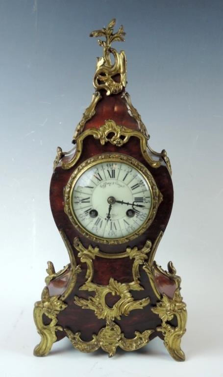 Tiffany & Co French Louis XV Clock