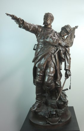 Jean-louis Gregoire Monumental Bronze