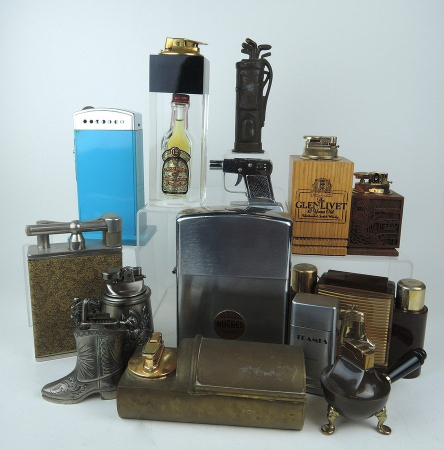 Group of 14 Vintage Lighters
