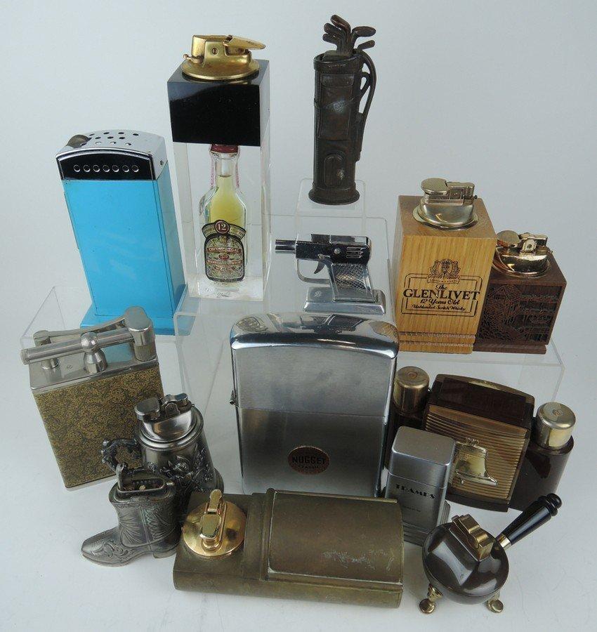 Group of 14 Vintage Lighters - 2