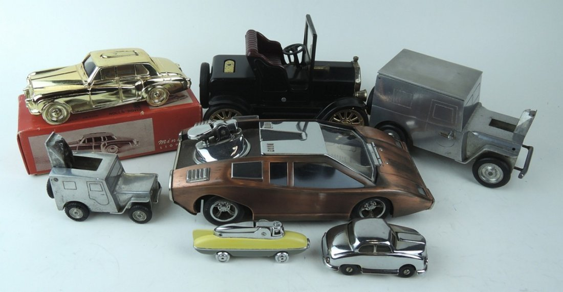 Group of 7 Automobile Cigar Lighters