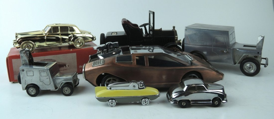 Group of 7 Automobile Cigar Lighters - 2