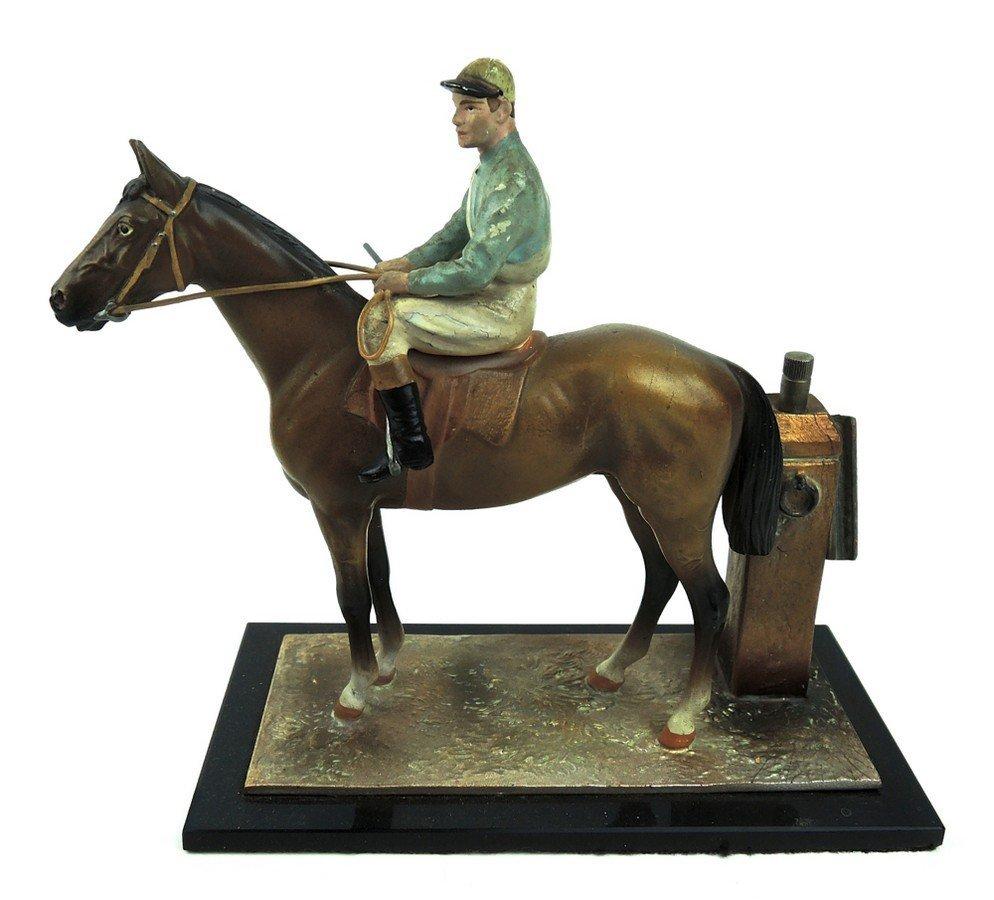 Horse & Jockey Cigar Lighter