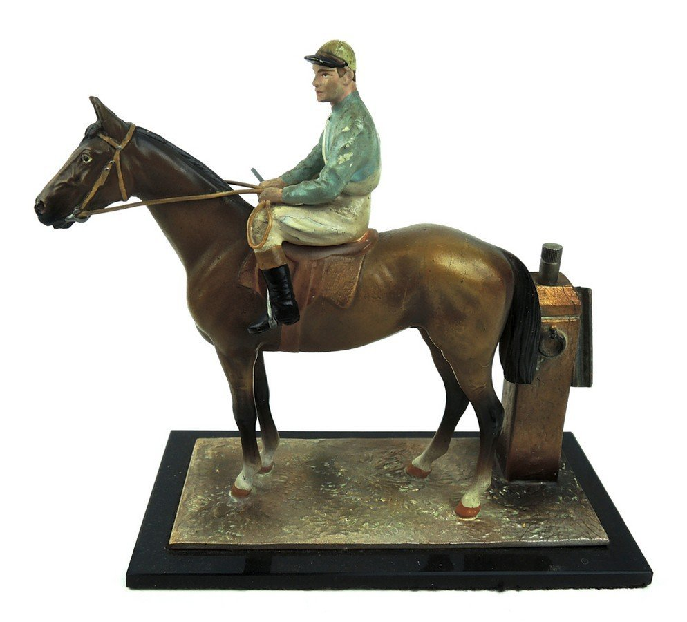 Horse & Jockey Cigar Lighter