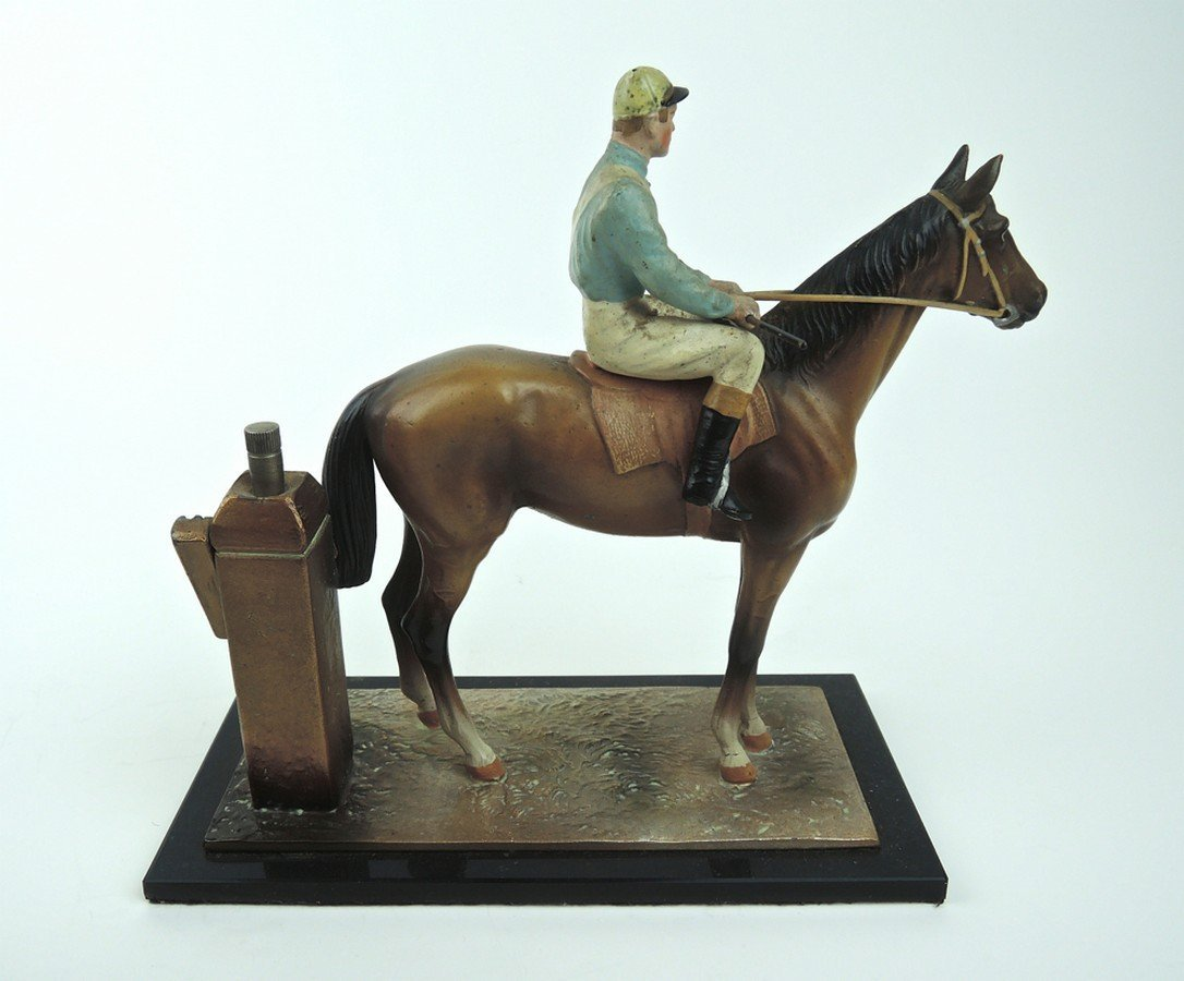 Horse & Jockey Cigar Lighter - 2