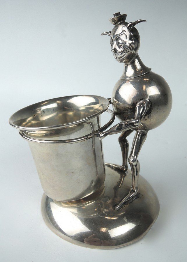 Sterling Silver Imp Figural Cigar Lighter