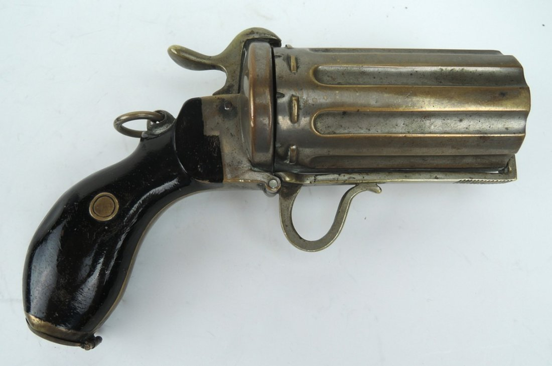 Unusual Pepperbox Gun Cigarette Holder