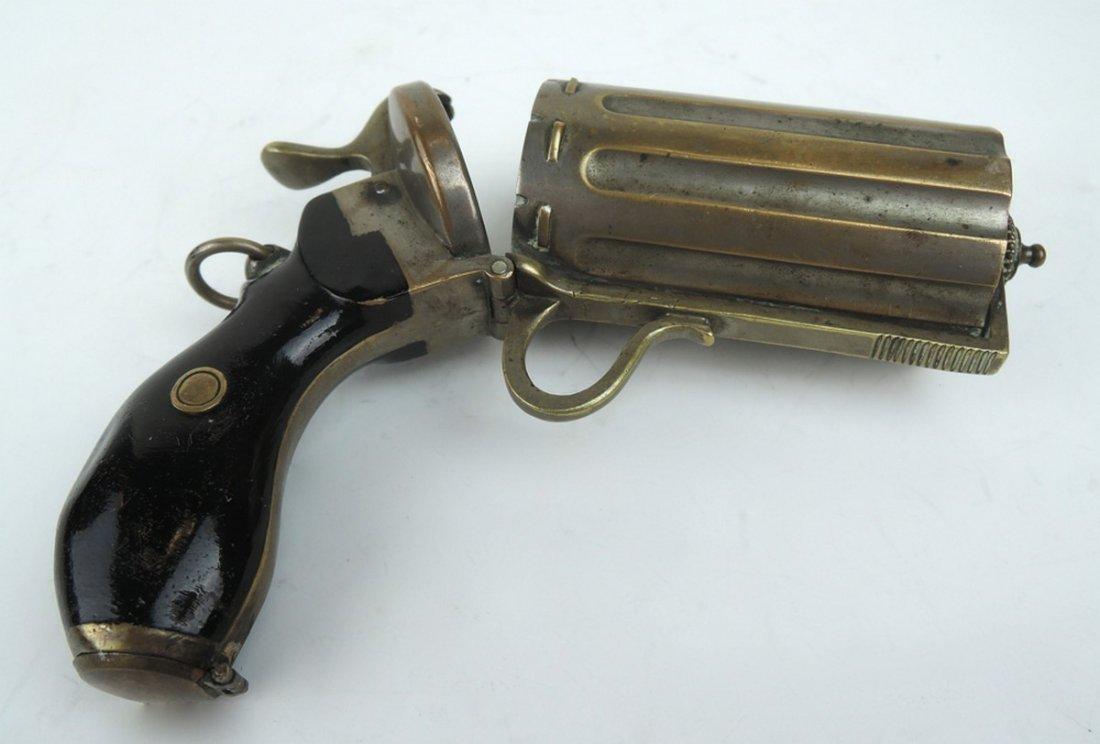 Unusual Pepperbox Gun Cigarette Holder - 5